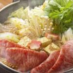 Kagoshima Wagyu sukiyaki